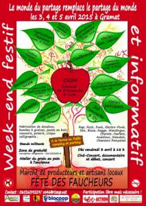 Le 3, 4 et 5 Avril 2015 à Gramat ( Lot et/ou en région Midi-Pyrénées) : Fêtes des Faucheurs